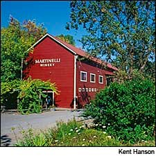 Photograph of Martinelli Winery