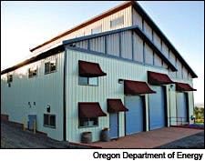 Photograph of Torii Mor Winery courtesy of Oregon Department of Energy
