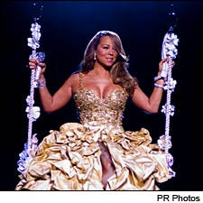 Photograph of Mariah Carey