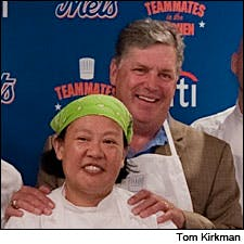 Photograph of Tom Seaver and Anita Lo