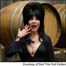 Photograph of Elvira courtesy of Sort This Out Cellars