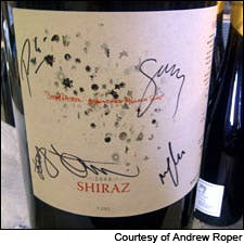 Photograph of A Hundred Million Suns Shiraz by Andrew Roper