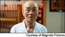 Photograph of Jiro Ono courtesy of Magnolia Pictures