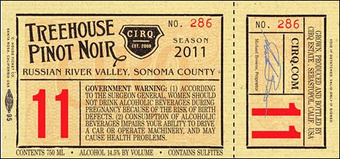 Cirq Treehouse label