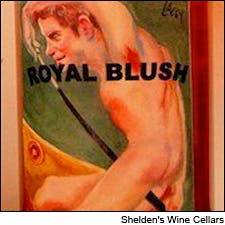 Photo of Royal Blush label