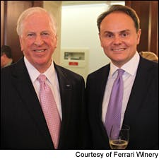 Photo of Congressional Wine Caucus courtesy of Ferrari Winery