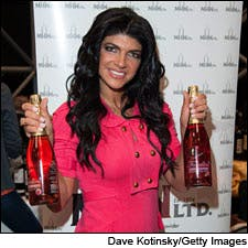 Photograph of Teresa Giudice at New York Wine Expo