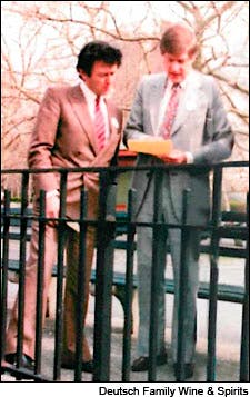 Georges Duboeuf and Bill Deutsch meet in 1982.