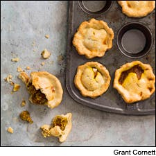 Curry Pork Pies by Grant Cornett from Smoke and Pickles by Edward Lee, Artisan Books copyright 2013