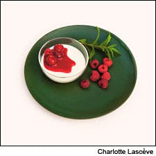 Herb-Scented Panna Cotta by Michel Guérard