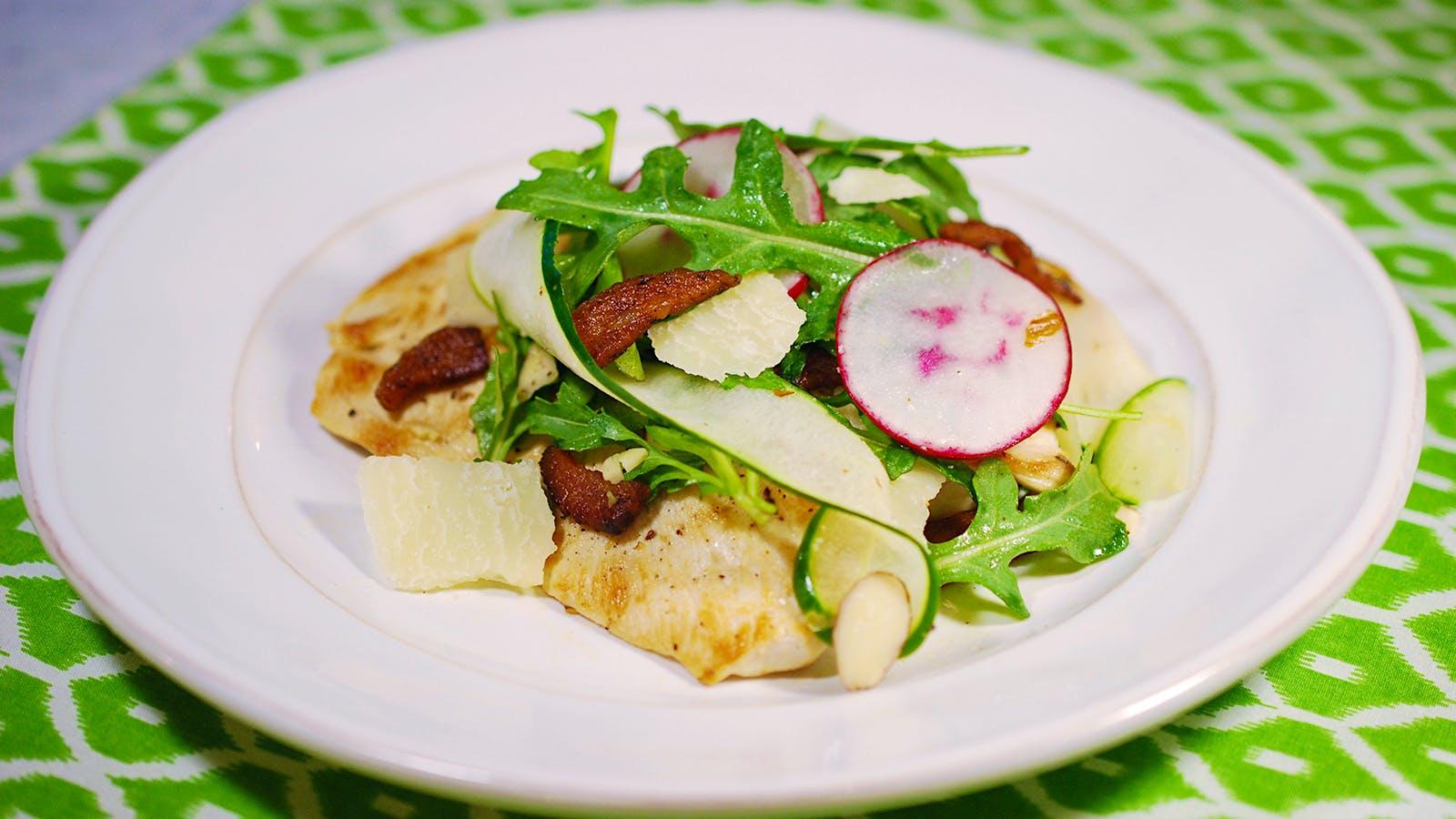 8 20 Recipe Chicken Paillard Salad With A Fresh White Wine Wine Spectator