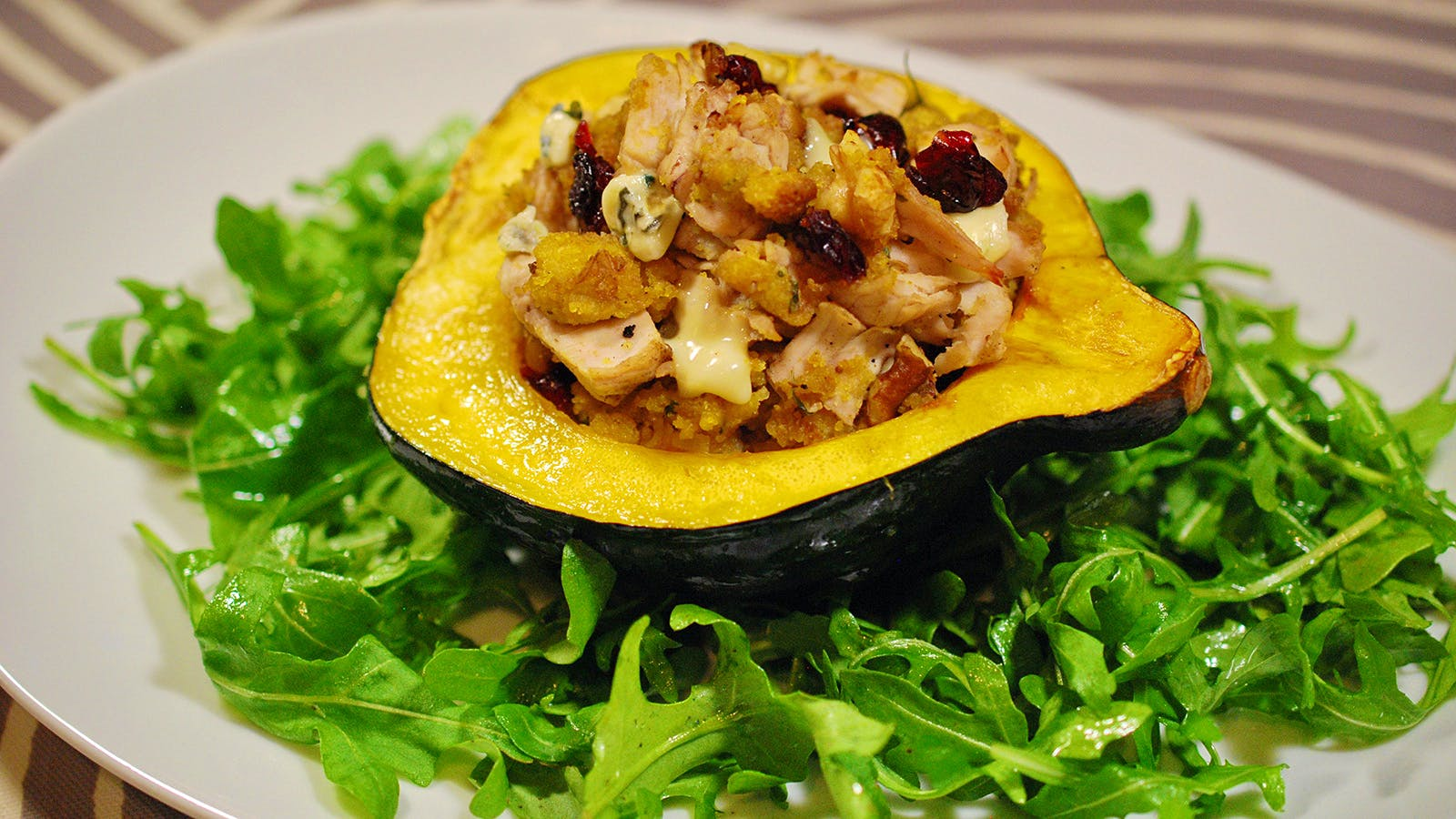 8 & $20: Stuffed Acorn Squash With Riesling