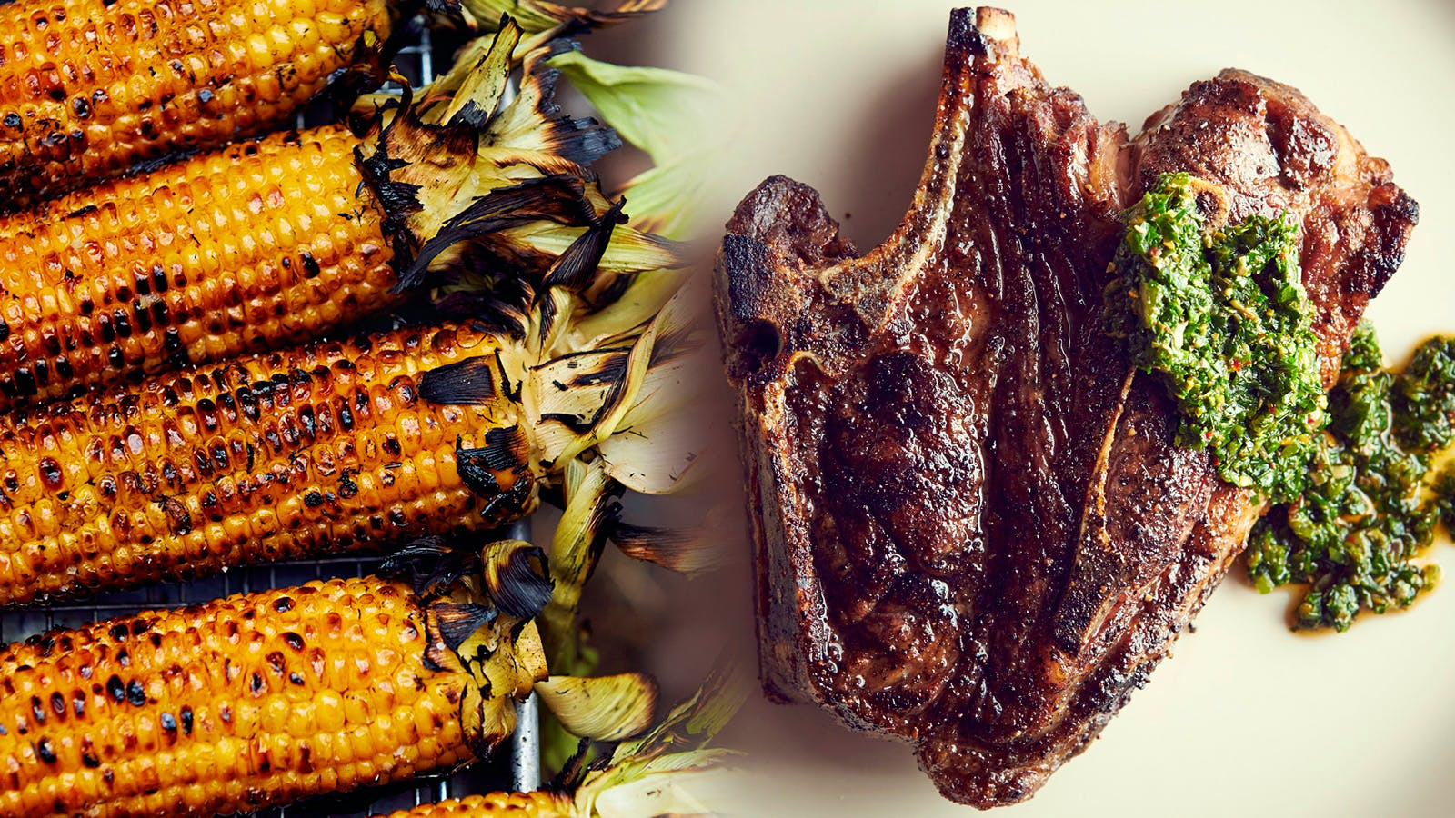 Grilled Lamb and Charred Corn for Father's Day