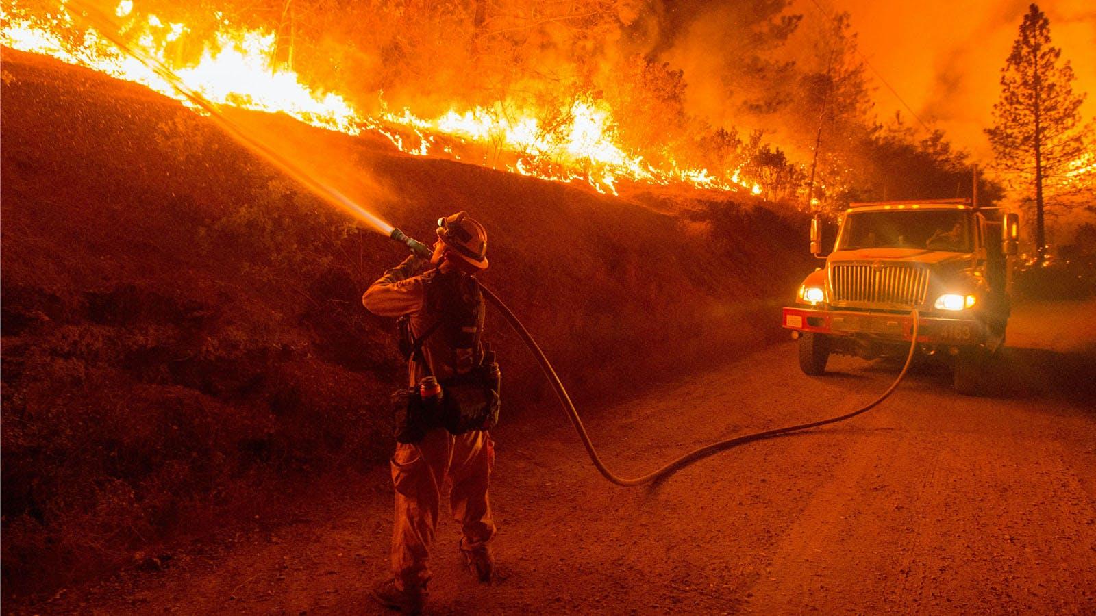Wildfires Continue to Threaten California Wine Regions