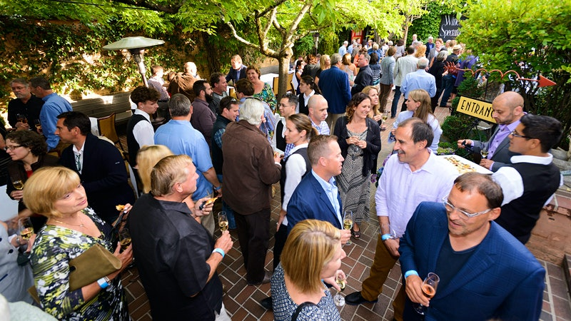 A Packed Party of Top California Winemakers and Magnums of Their Best Wines