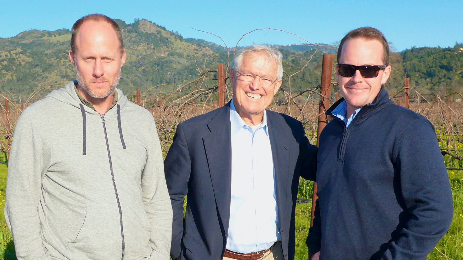 Coach Dick Vermeil Teams Up with Winemaker Thomas Brown