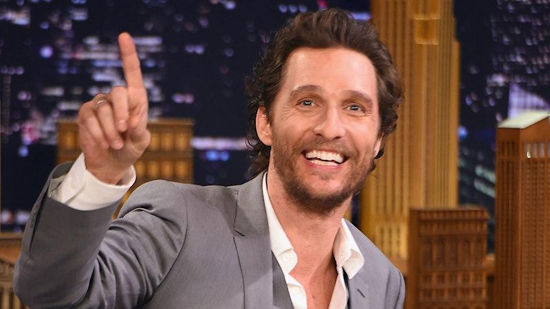 What Role Will Matthew McConaughey Play in <i>Billionaire's Vinegar</i>?