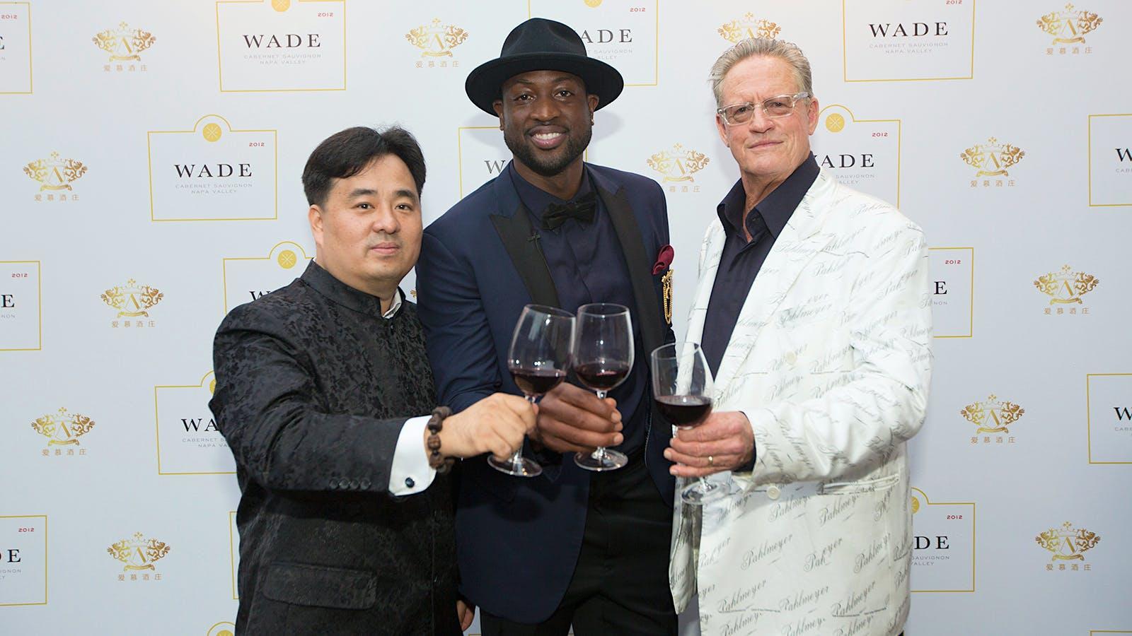 Dwyane Wade Brings His 2012 Napa Cabernet to China
