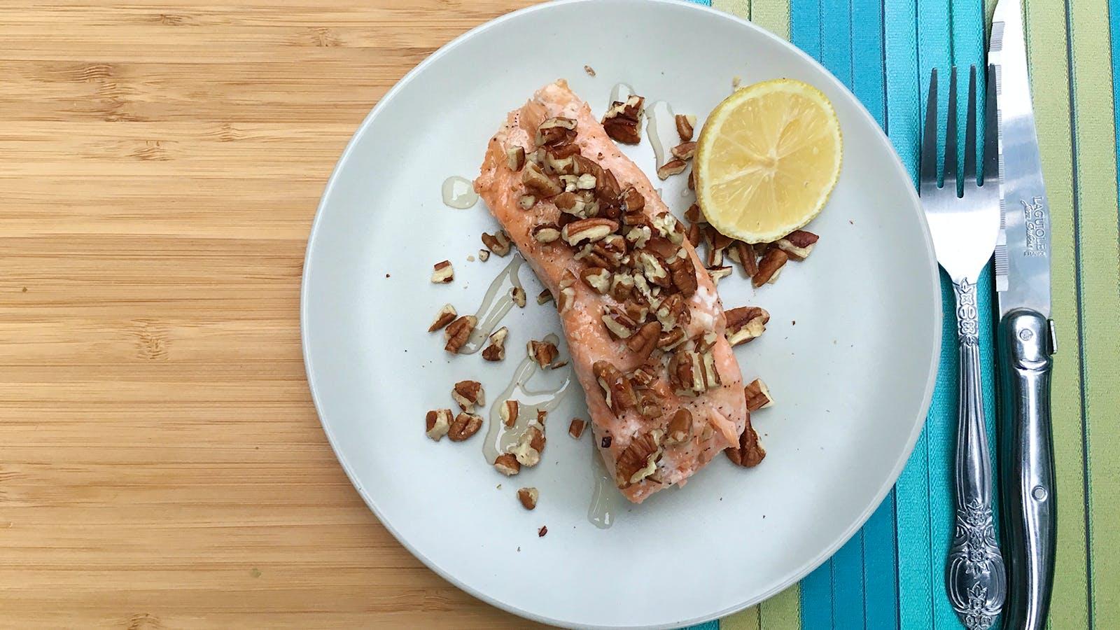 Honey-Pecan Salmon