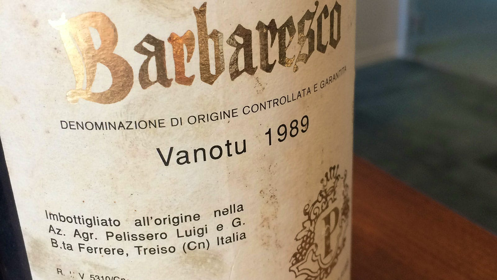 A Vertical Tasting of Pelissero's Vanotu Barbaresco