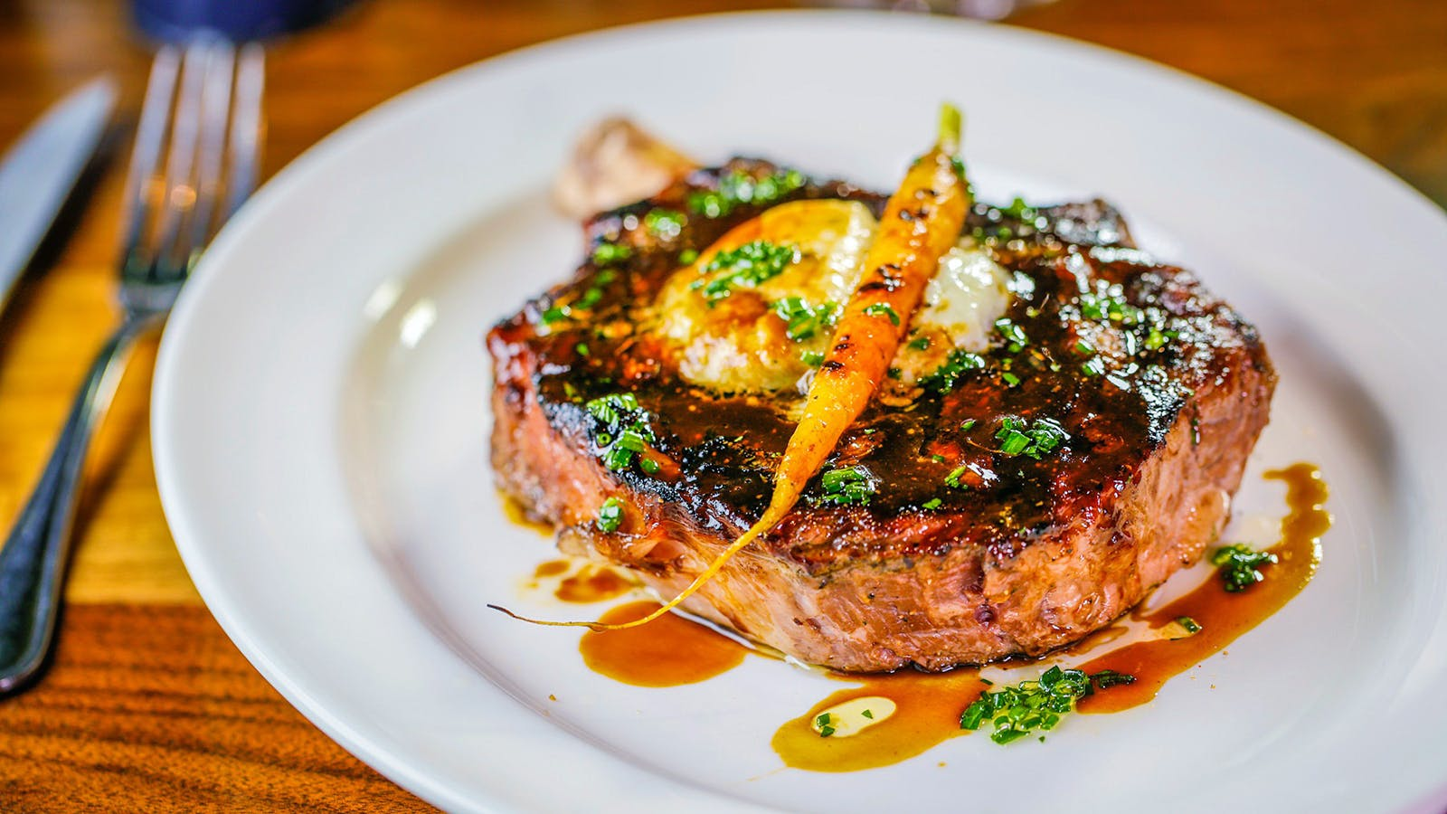 Quintessential American Rib Eyes and Cabernet for the Fourth of July