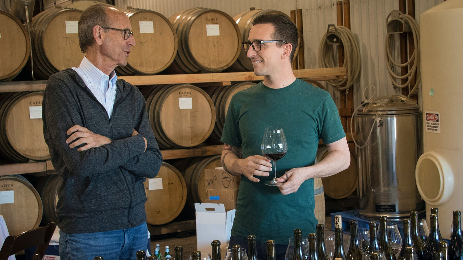Oregon Pinot Noir Vintner Tries Transparent Pricing