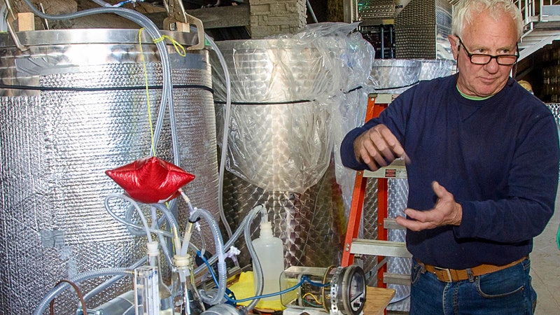 Amateur Winemaker Develops Solution For Making Wine Smell Even Better