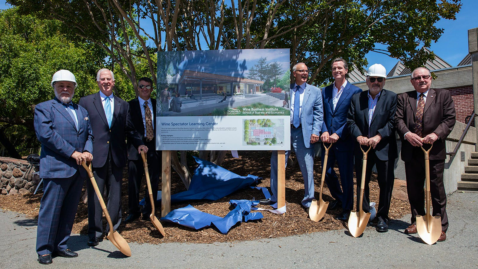Sonoma State University Breaks Ground on New Home for Wine Business Institute