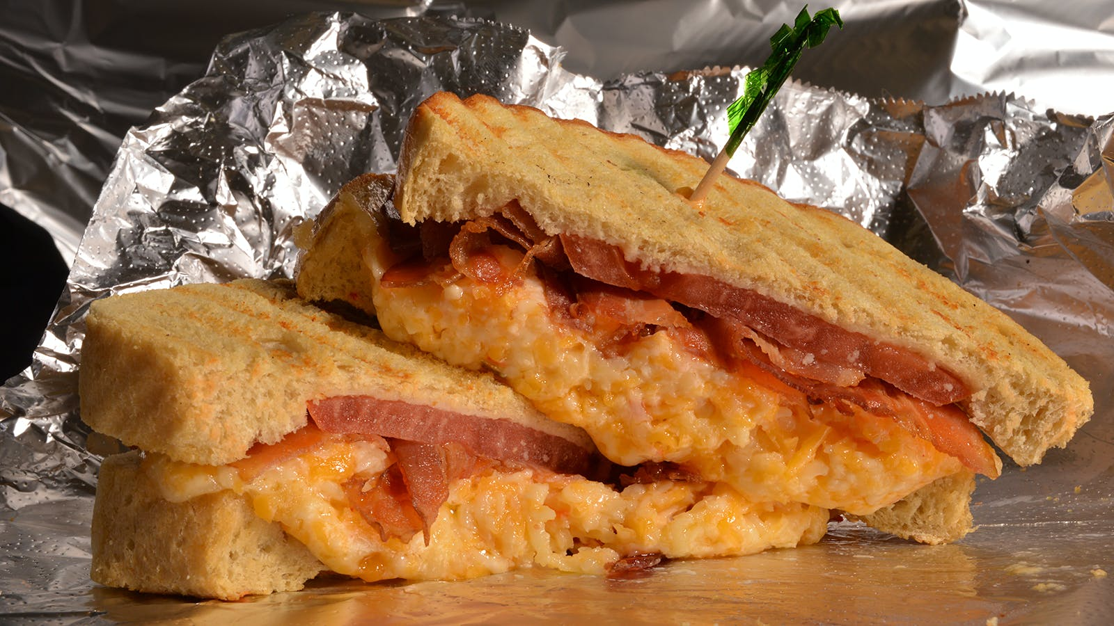 Common Market Grilled Pimento Cheese Sandwich with Bacon