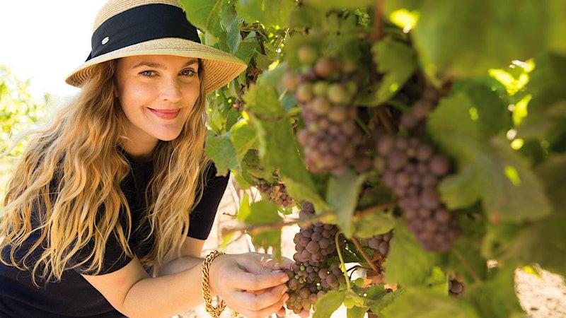 Drew Barrymore Is Ready for Rosé Season