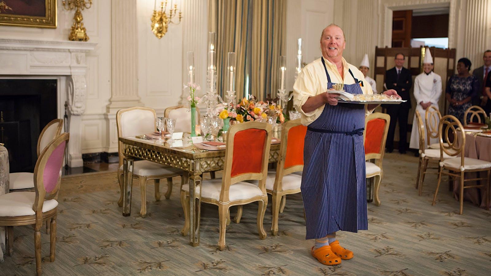 Mario Batali in the White House Kitchen
