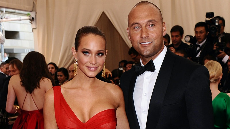Wine-Country Wedding Bells for Derek Jeter and Hannah Davis