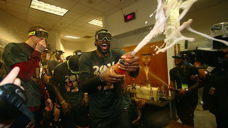 LeBron and the Cavs Pop Moët's 'Ohio City' Nectar