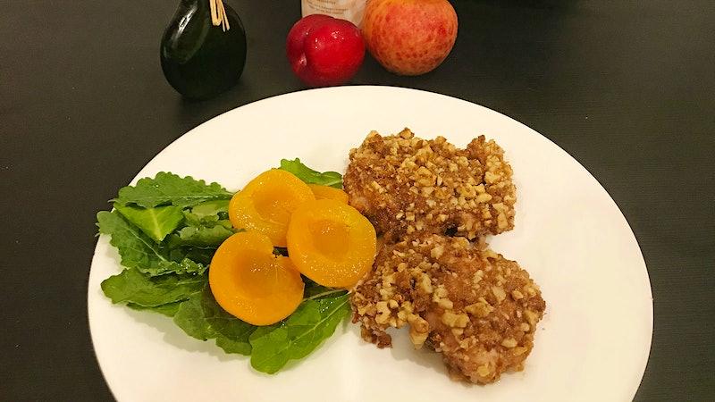 8 & $20: Apricot-Walnut Chicken