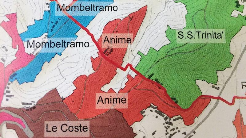 Mapping Roero