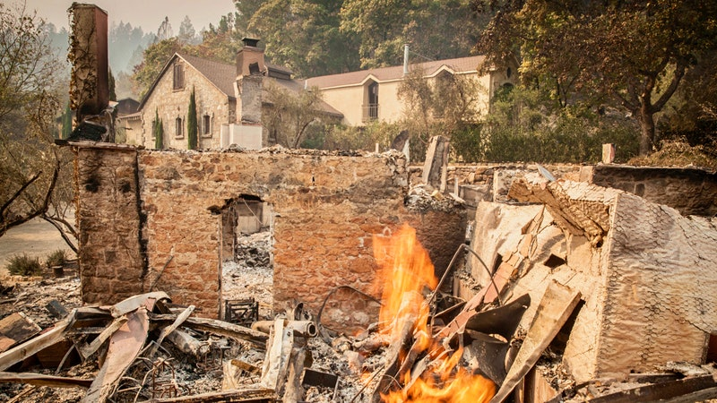 Updated Oct. 13, 11:00 a.m. PST: Massive California Wine-Country Fires Worsen, Sending More Residents Fleeing