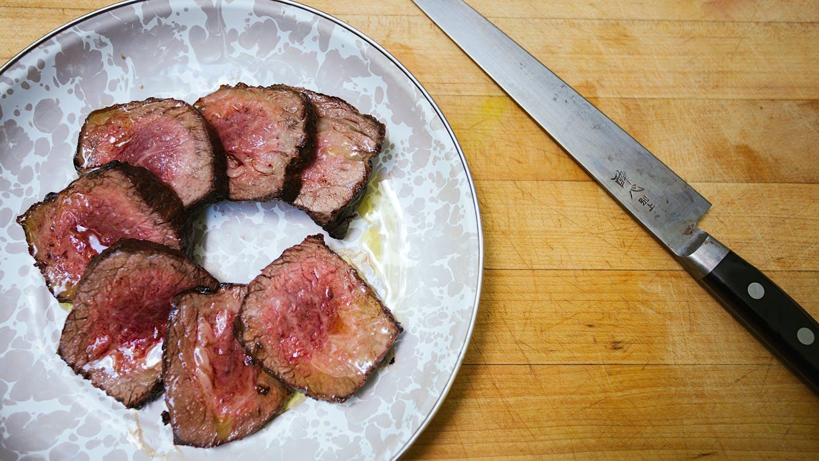 Chef Hugh Acheson's Grilled Tri-Tip Steak