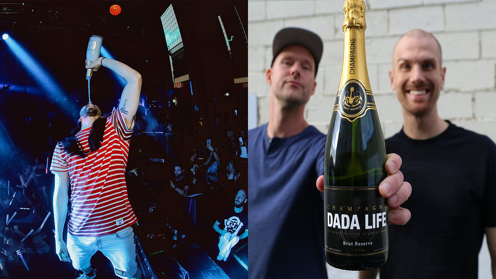 Champagne Earns '100-Point Score' for Sprayability from DJ Duo Dada Life
