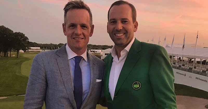Luke Donald, Sergio García Tee Up a Terlato Party for a Cause