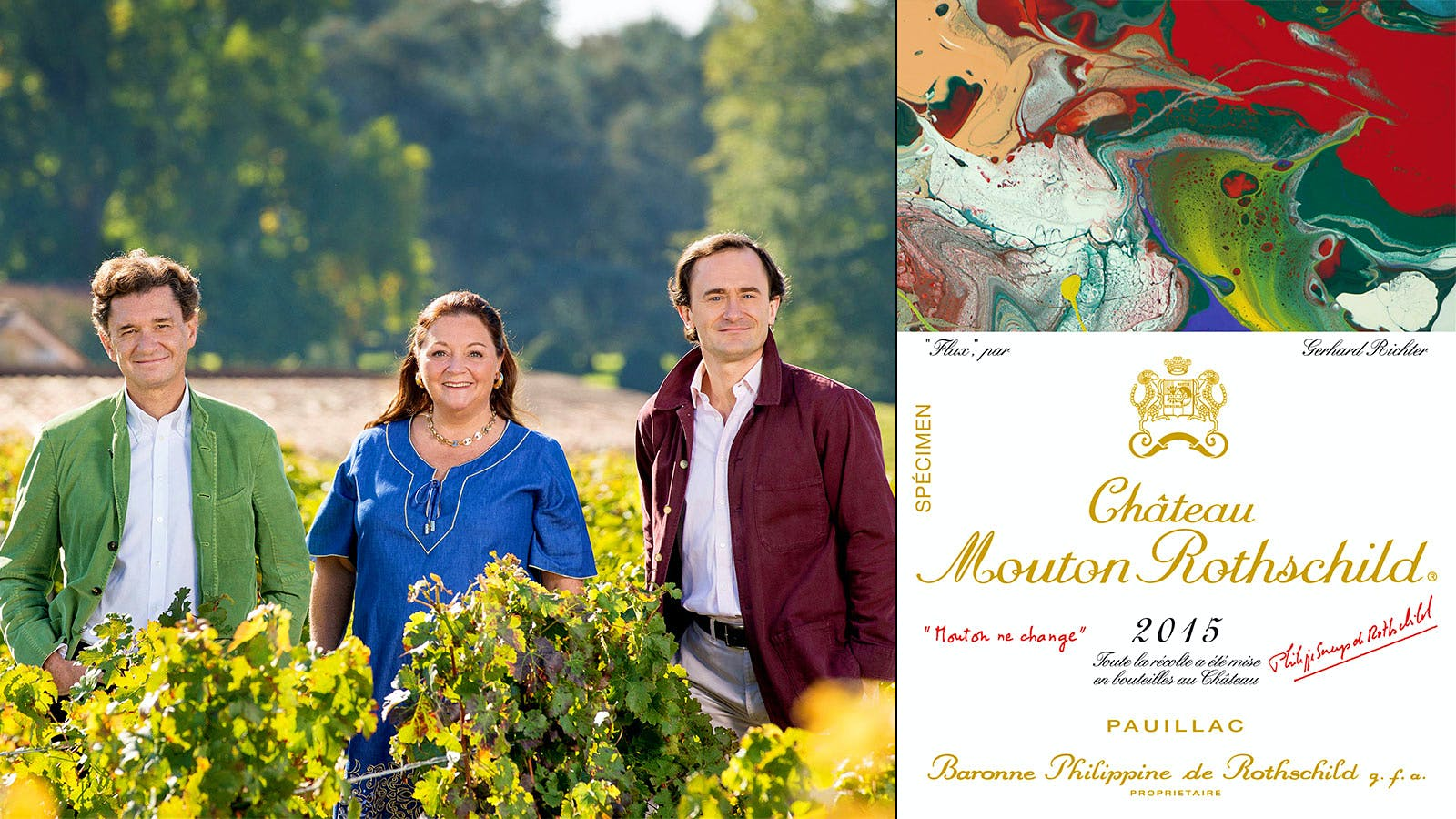 New Mouton Art Label for a New Mouton Generation
