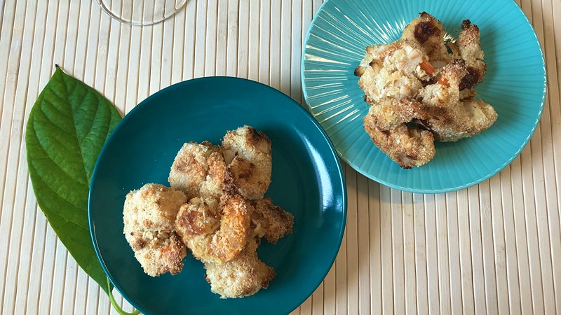 8 & $20: Crunchy Baked Coconut Shrimp