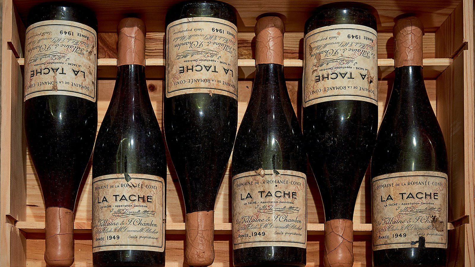 Domaine de la Romanée-Conti 1945 Auctioned for Record-Shattering Price