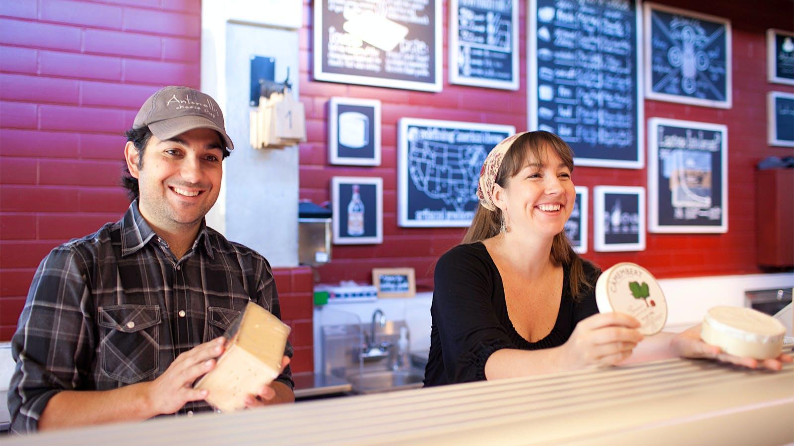 Cheese Talk: John and Kendall Antonelli