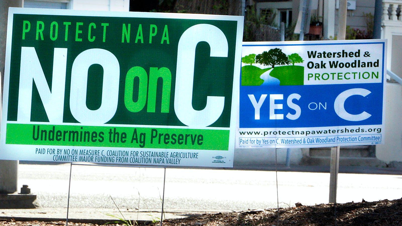 Napa's Measure C Is Dead; the War Over Hillside Vineyards Has Just Begun
