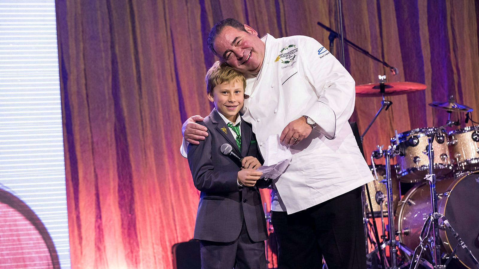 10-Year-Old Winemaker Helps Emeril Lagasse Raise $3 Million for Children's Charities