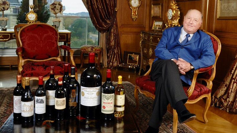 Co-Owner of Château Cheval-Blanc Albert Frère Dies