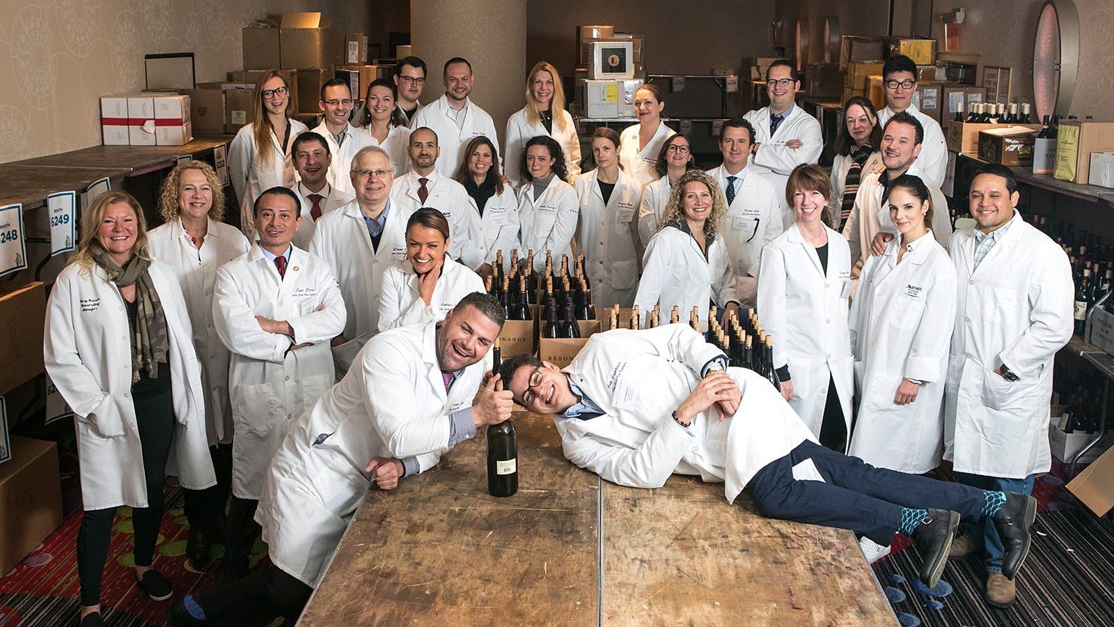 The Wine Experience Sommelier Team