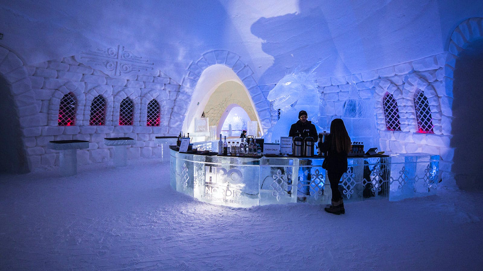 Winter Is Delicious at 'Game of Thrones' Igloo Bar