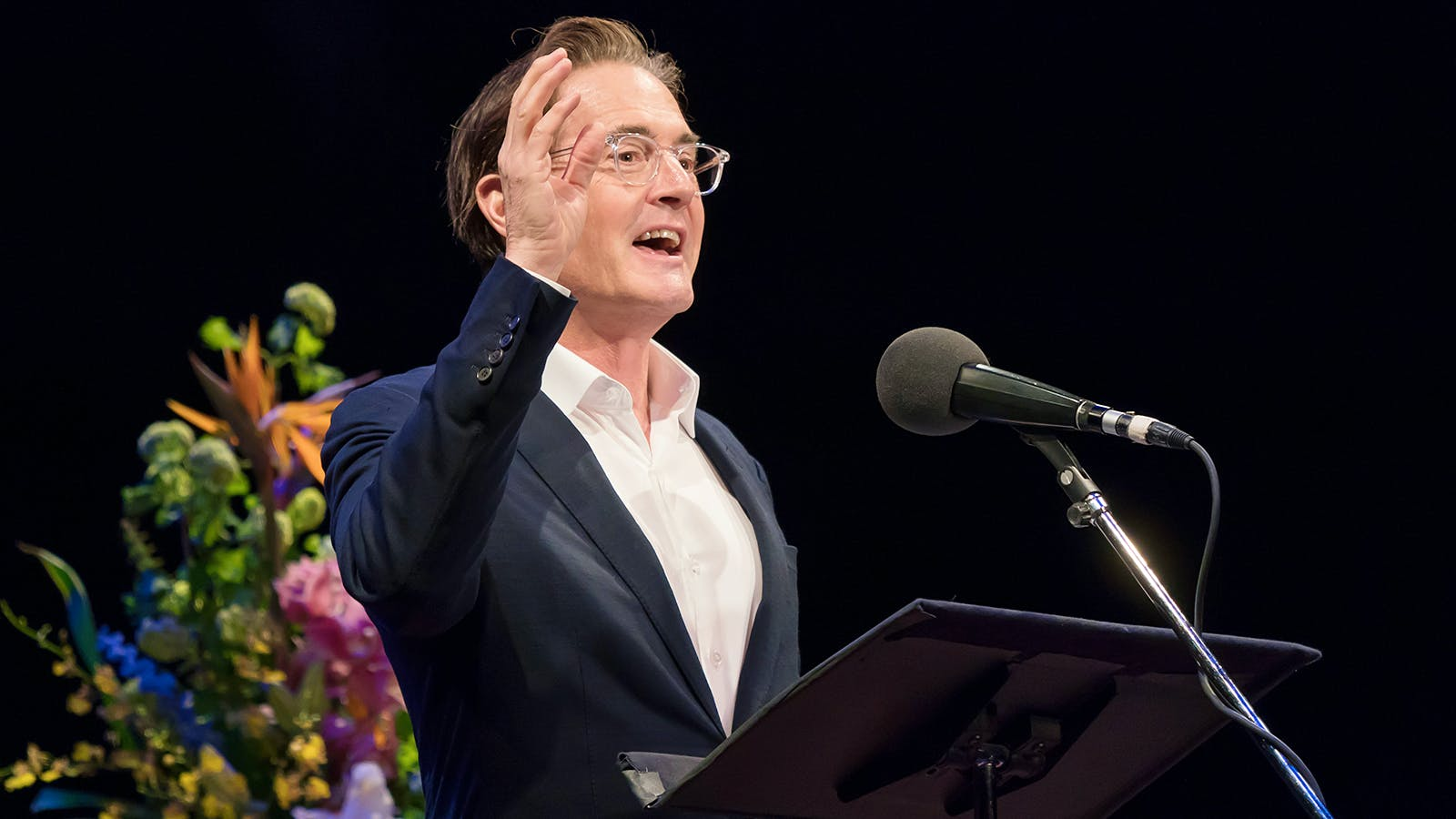 Enter, Pursued by Bear: Kyle MacLachlan Performs and Pours on 'Selected Shorts,' Hints at Next Wine Act