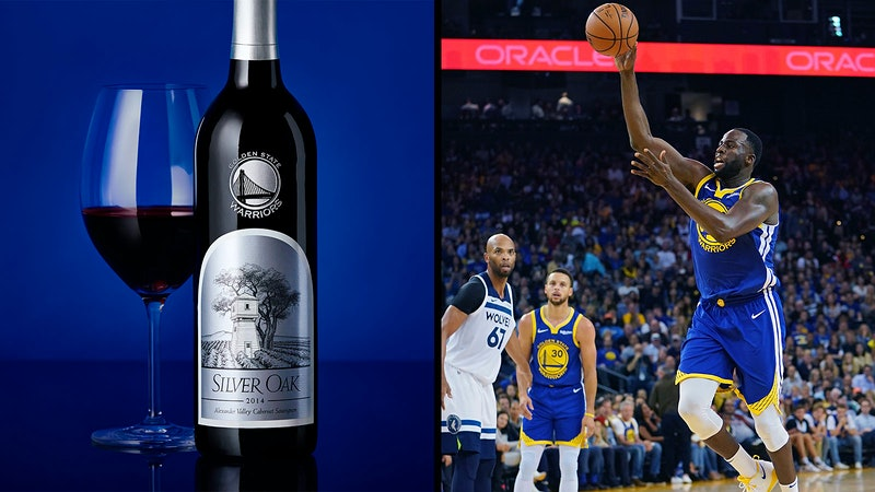 Silver Oak at Golden State: Winery Unveils Throwback Warriors Logo Bottles, Becomes In-Arena Pour
